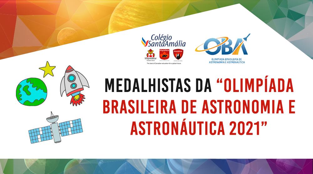 """Confira os medalhistas da """"Olimpíada Brasileira de Astronomia e Astronáutica"""""""