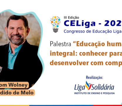 Instituto de Ensino e Pesquisa Liga Solidária promove a 3ª edição do CELiga