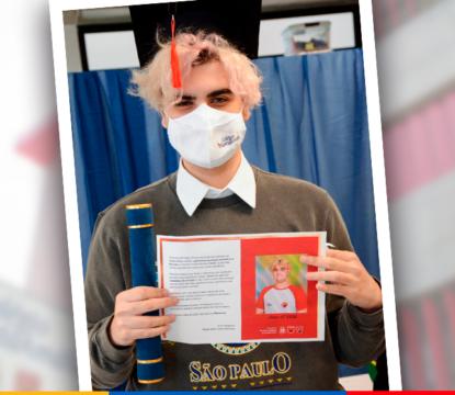 Especial ex-alunos: Conheça o Guilherme, aluno formado pela 1ª turma do High School Maple Bear no Brasil