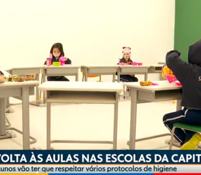 Em reportagens da Globo e da CNN, alunos dos Colégios Santa Amália aprovam volta às aulas presenciais com segurança